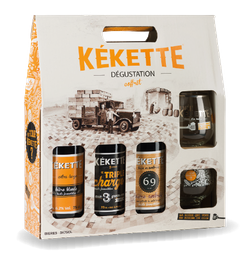 Bières - La Kékette - Coffret dégustation